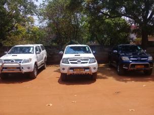 Double Cabs Toyota Hilux D4Ds Car Hire