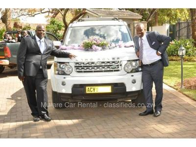 Range Rover Wedding Vehicle Hire