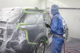 Vehicle spray painting services