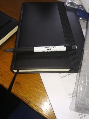 Branded diaries