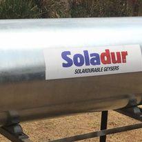 150L Gravity Feed Soladur Geyser