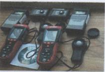 HD 400 heavy duty light meters