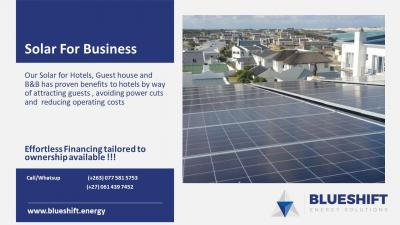 Business solar package for Hotels
