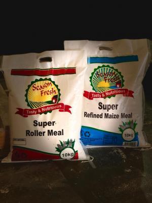10 kg super refined maize meal