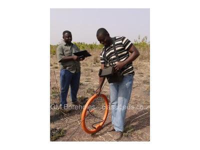Borehole siting (water surveying)
