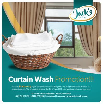 Curtain Wash