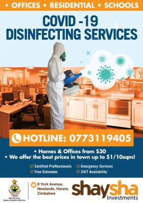 Building Disinfection Services