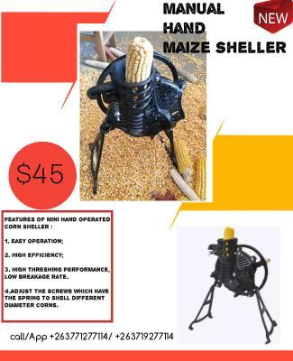Hand-Operated Maize Sheller
